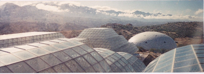 Biosphere 2 in Oracle, Arizona