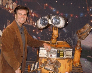 Roger with Wall-E