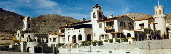 Scotty's Castle in Death Valley, Calif.