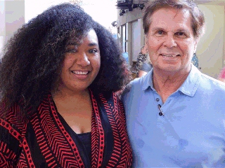 Roger with a representative from Tonga